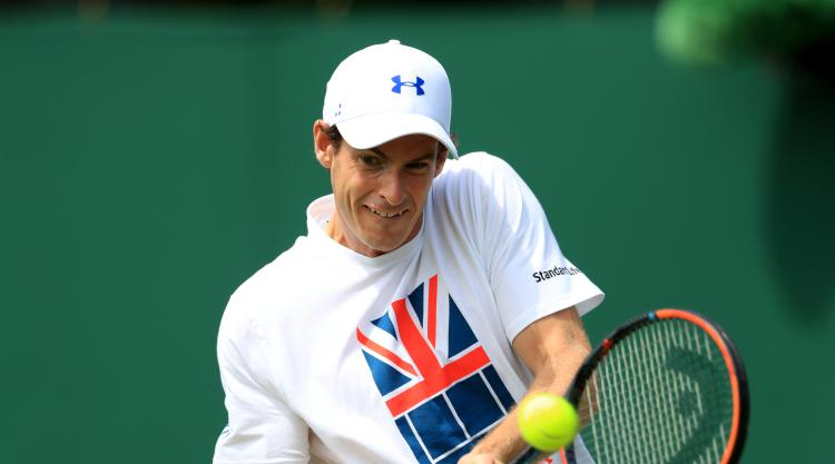 Andy Murray returns to practice courts ahead of Wimbledon defence