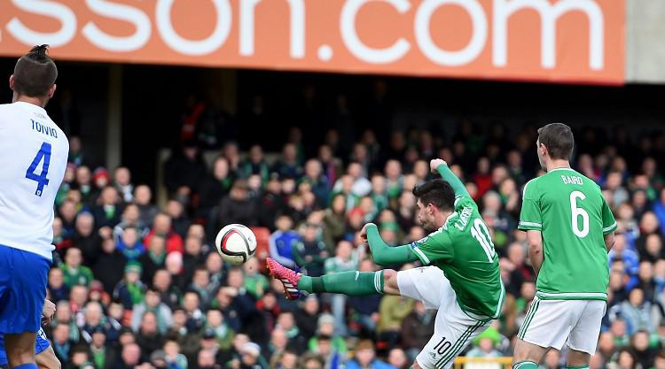 Lafferty brace enough for N Ireland