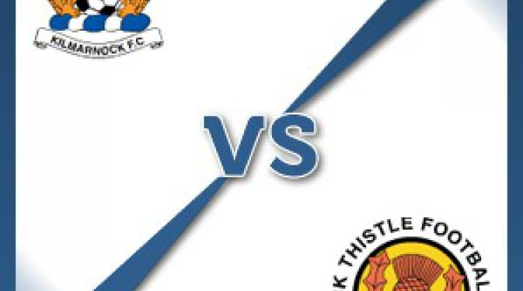 Kilmarnock V Partick at Rugby Park : Match Preview
