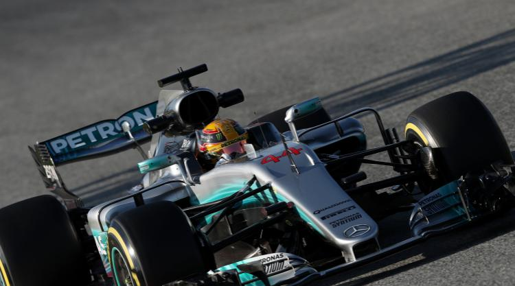 Hamilton fastest as Mercedes step up the pace
