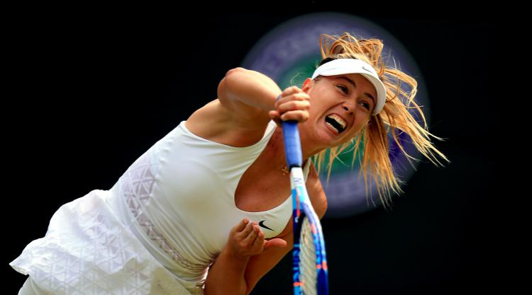 Sharapova advances to 2nd round in Madrid Open