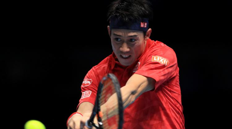 Rain delay helps Nishikori win all-Asian match in Paris
