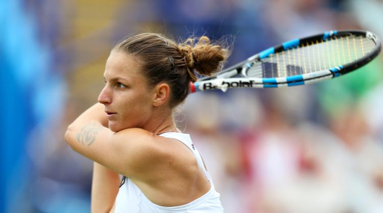 Karolina Pliskova beats Nicole Gibbs to reach third round at US Open