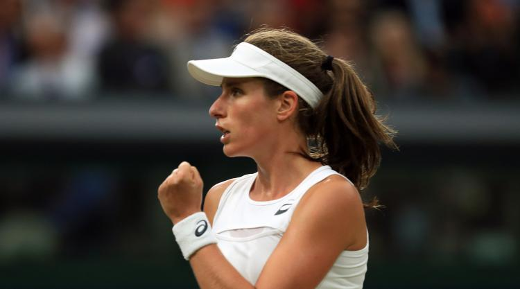 Wonderful Williams ends Konta's Wimbledon dream