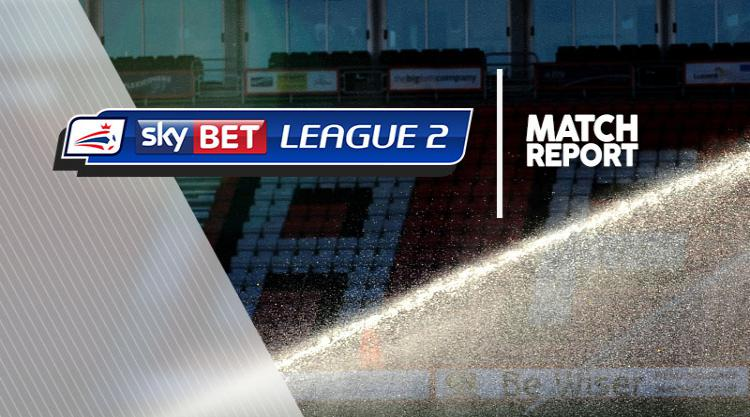 Exeter 1-1 Morecambe: Match Report