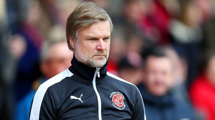 Steven Pressley resigns as Fleetwood manager