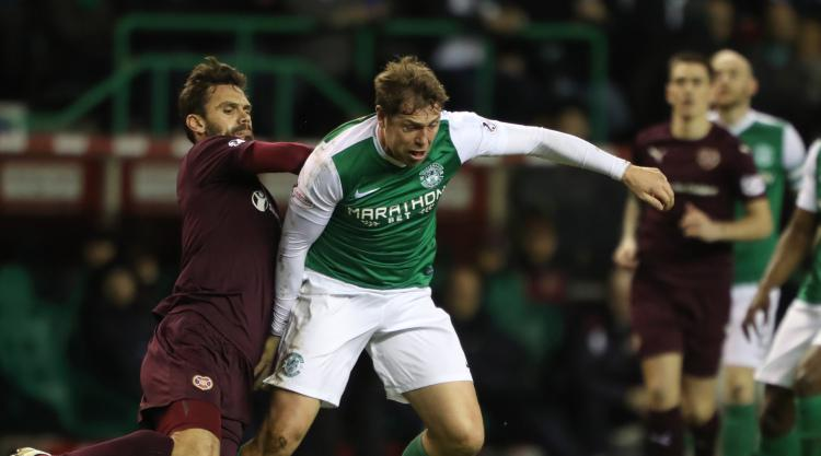 Goalscorer Grant Holt focused on winning promotion with Hibs