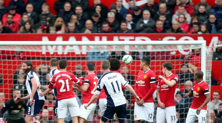 Baggies stun United at Old Trafford
