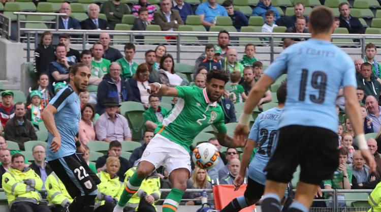 Cyrus Christie on scoresheet as Republic of Ireland defeat Uruguay