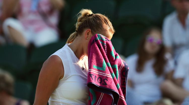 Ill Kvitova like 'slow animal' in Wimbledon loss