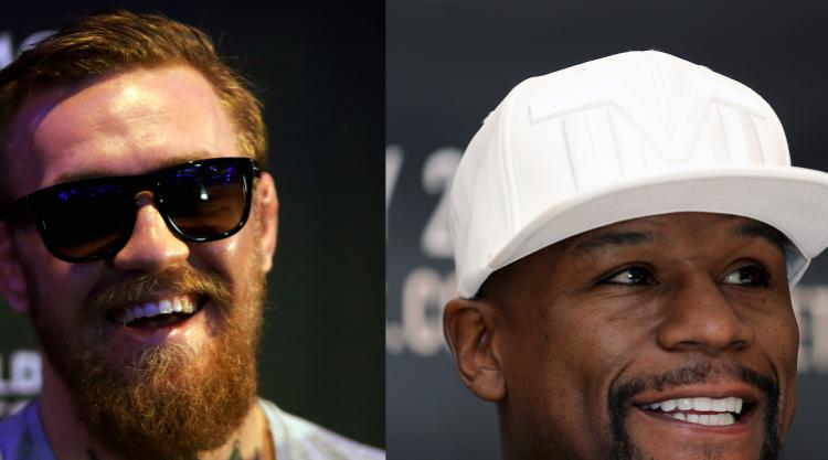 Dana White explains size difference between Conor McGregor & Floyd Mayweather