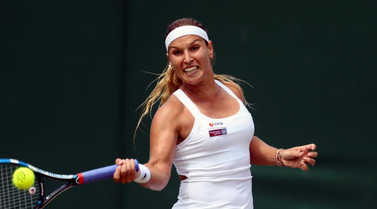 Dominika Cibulkova through to Connecticut Open quarter-final