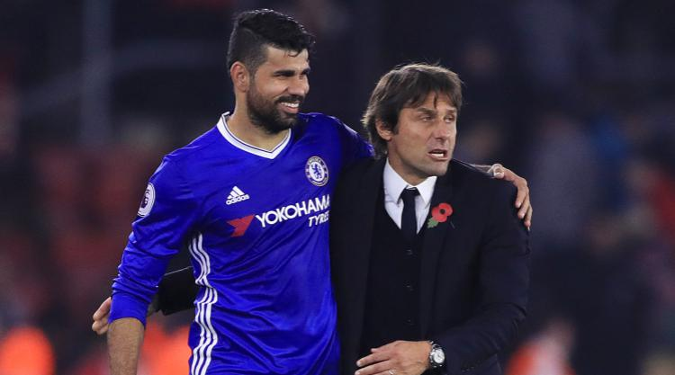 Antonio Conte reacts to Stoke win, hails hat-trick hero Alvaro Morata