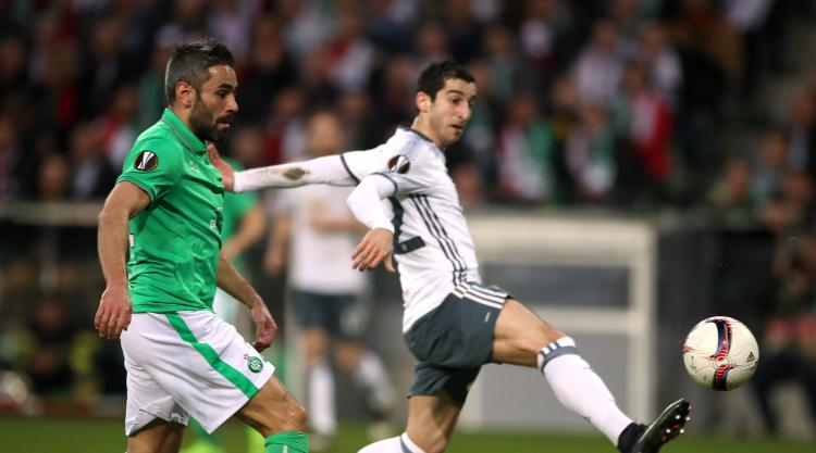 Manchester United secure Europa League progress against St Etienne at a cost